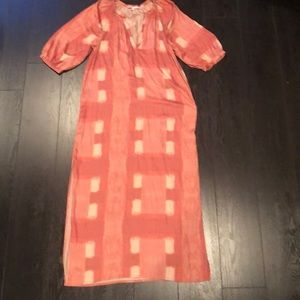 Anthro Silky Dress/Tunic/Caftan